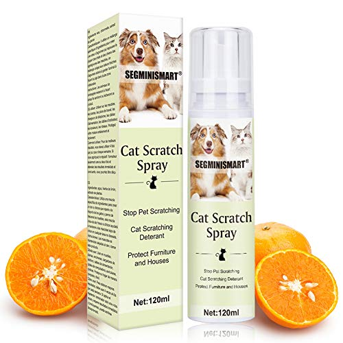 SEGMINISMART Repelente para Gatos,Cat Scratch Deterrent Spray,Spray de Entrenamiento para Gatos,Cat Training Spray, Educación Spray para Perros y Gatos