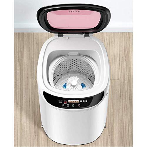 HTZ Mini Lavadora Lavadora portátil Compacto de lavandería, Pequeña Semi-Compacto automático