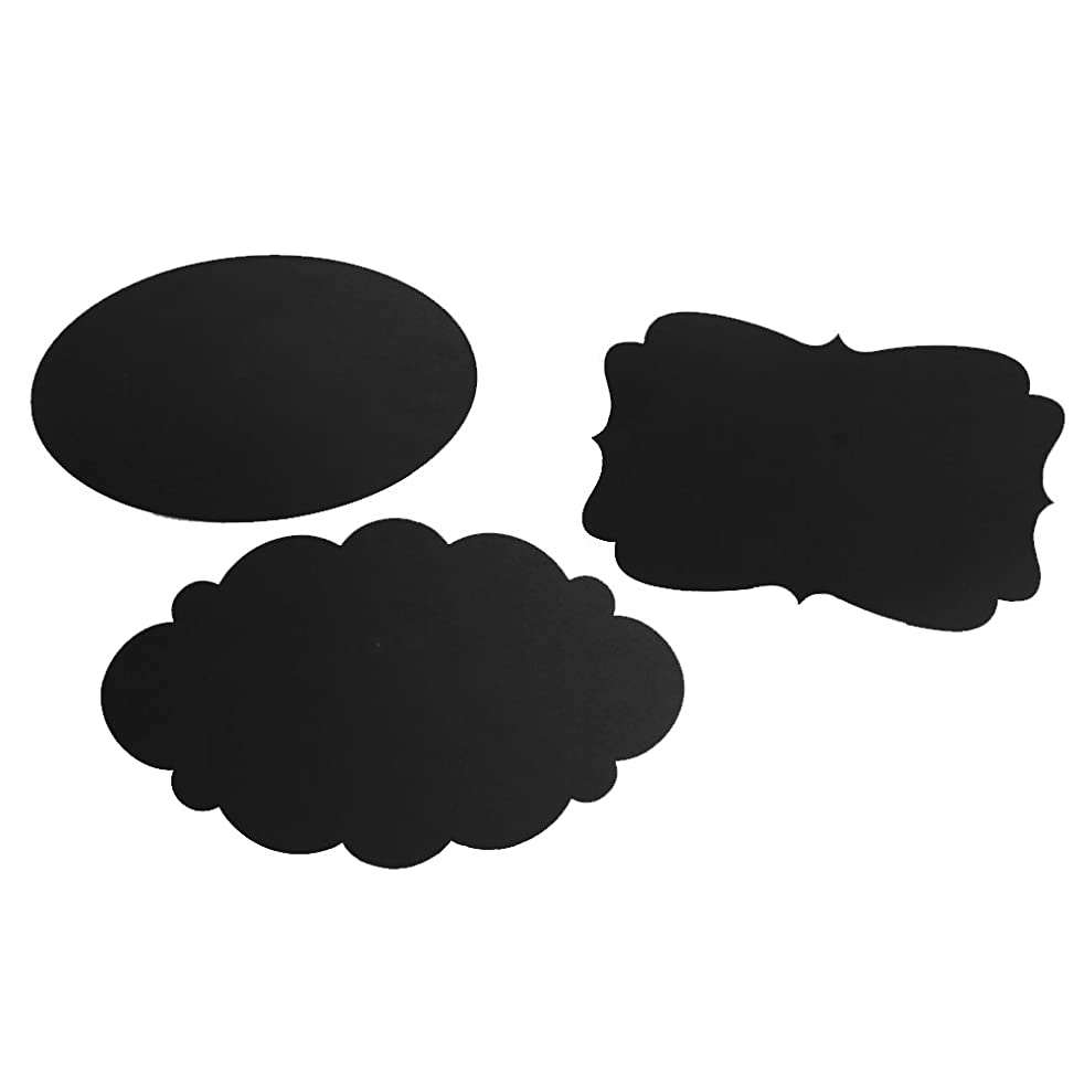 Ivy Lane Design Not- Not-Aplicable 3 Assorted Chalkboard Shapes with Easels