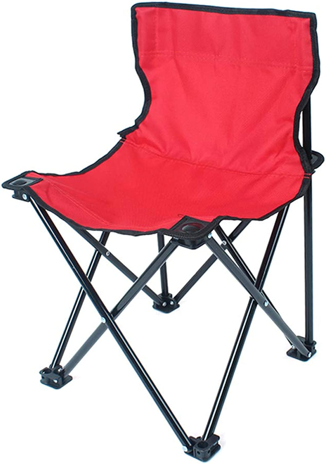 Portable Camping Chair Lightweight Compact Folding Backpacking Chair, Heavy Duty 220lbs Capacity with Carry Bag, Breathable and Comfortable for Outdoor, BBQ, Hiking, Picnic, Fishing, Festival