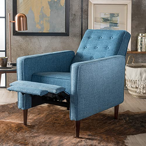 The Macedonia chair is a fabulous recliner for small living rooms