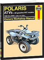 Haynes Polaris ATVs 250~500cc マニュアル (1998~2007)