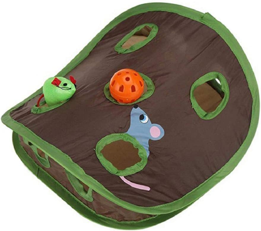 Vacally Special price Pet Cat Tunnel Toy outlet Intelligence B Mice Game