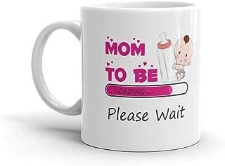 Family Shoping Mom to Be Please Wait Ceramic Mug Pregnancy Gift, 320 ml, www
