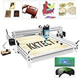 0.01mm Accuracy Laser Engraving Machine, Large Area Engraver Kits DIY CNC 2.5W USB Upgraded 2 Axis Desktop Printer Used As Carving Engraving Cutting Machine for Leather Wood Plastic (5040)