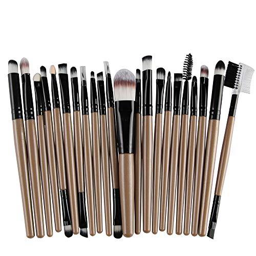 Pinceau de maquillage, pinceaux de maquillage pour les yeux mélangeant des outils de correcteur de beauté kits de pinceau de maquillage (22pcs) Brosse à maquillage XXYHYQ