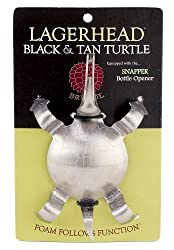 Black & Tan Turtle kitchen gadget for beer