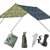 MCGAOJIN Toldo De Camping, Lona Impermeable, Tienda De Campaña, Playa, Toldo De Gran Tamaño, Tela Impermeable, Toallita Impermeable, Toldo Triangular, Toldo