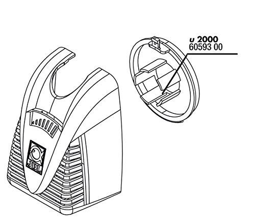 JBL proFlow u2000 grille de régulation.