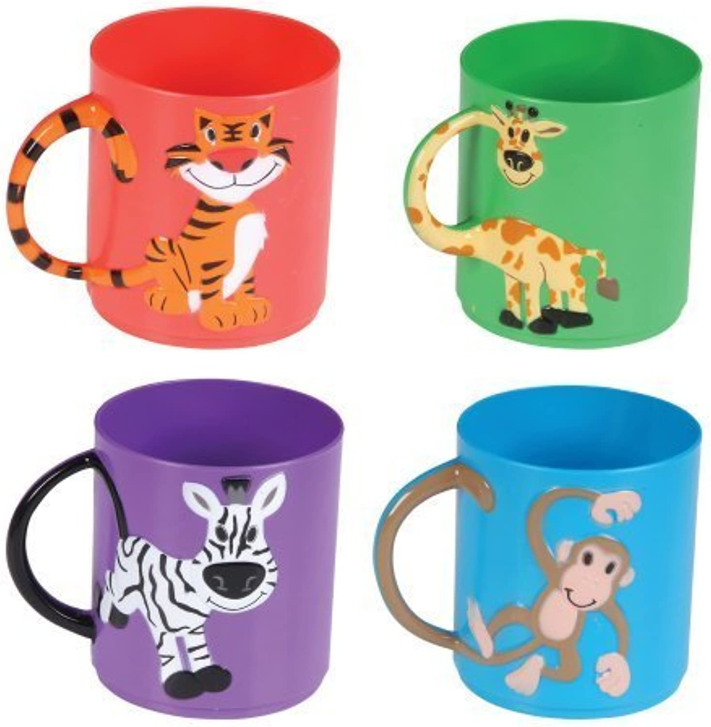Assorted color Animal Mugs (1 dz) by Rinco