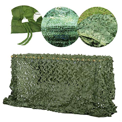 Garden Wall Decoration 4mx3m Camouflage Net, Camo Netting Waterproof Army Camouflage Netting Garden Shade Netting Car Net Sun Shade Awnings For Patios Camping Army Hidden Photography Hunt Shooting Bal