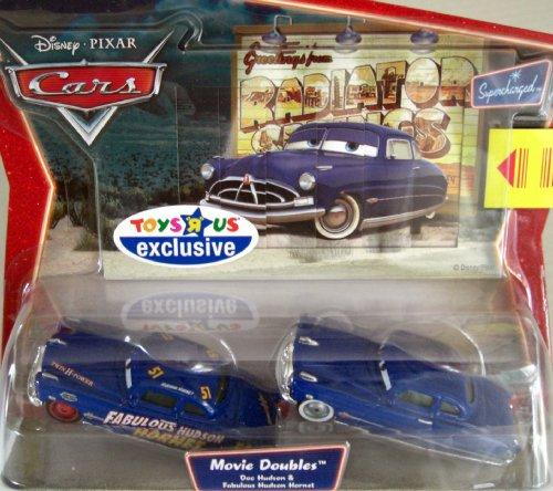 Disney Pixar Cars 2 Pack Doc Hudson & Fabulous Hudson Hornet