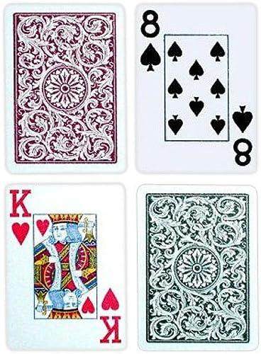 calidad fantástica Copag Poker Poker Poker Talla Jumbo Index 1546 Playing Cards (verde Burgundy Setup)  precio mas barato