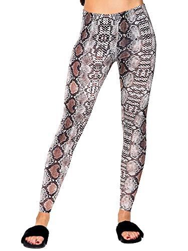 Love My Fashions® Womens Legging Ladies Yoga Pants Fitness Running Workout Bottoms Elastische Tights Seamless Sports Leggings Casualwear (XL/XXL, Aztec Black White)