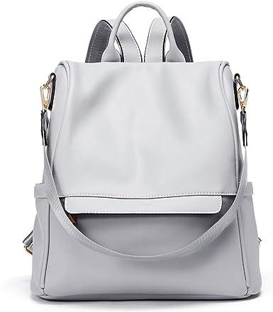 CLUCI Womens Backpacks Purse Fashion Leather Anti-theft