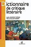 Dictionnaire de critique littéraire