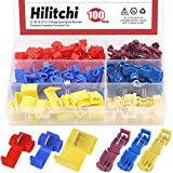 Hilitchi 100pcs 22/18 18-14 12/10 Gauge Quick...