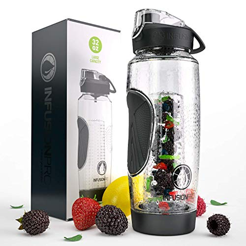 infusion water bottle glass - 9