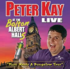 Peter Kay Live At The Bolton Albert Halls