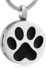 memorial jewelry Pet Ashes Keepsake Cremation Jewelry Urn Pendant Dog Ashes Necklace
