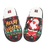 millffy unisex flamingo slippers women's fuzzy plush cozy christmas house shoes for indoor outdoor
