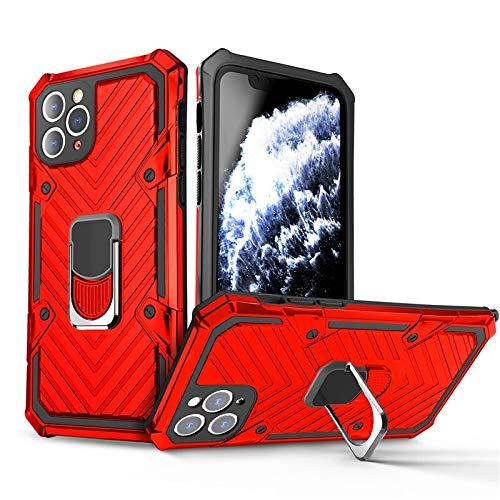 RZL Teléfono móvil Fundas para iPhone 12 11 Pro MAX, de Lujo imán PC Caja de la Armadura a Prueba de Golpes Cubierta Funda de Silicona para el iPhone 12/12 Pro/Pro 12 MAX 12 Mini