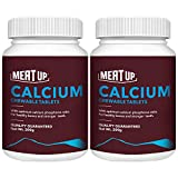 Meat Up Calcium Chewable Tablet- Dog Supplement, 50 Pcs