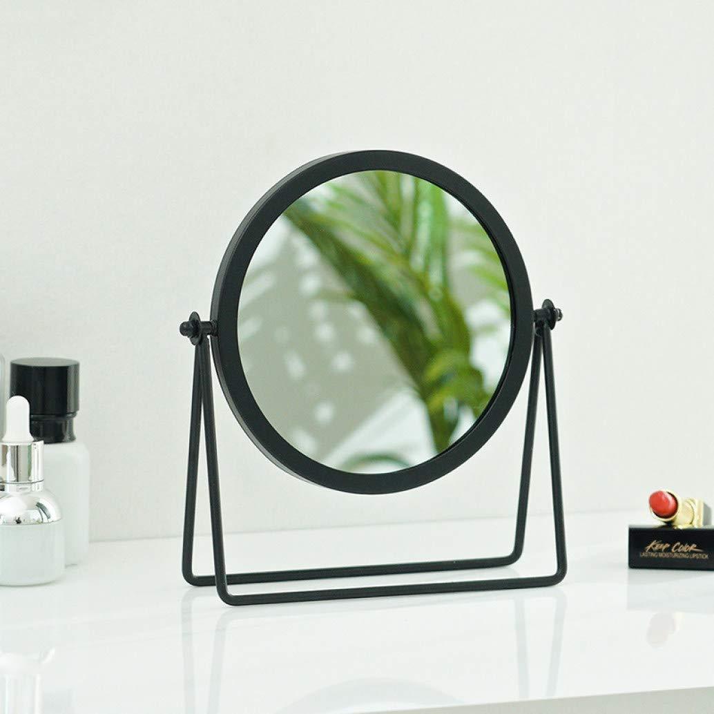 Baltimore Mall Makeup Mirror New popularity Vanity Durable Pers Bedroom Anti-Bump Metal