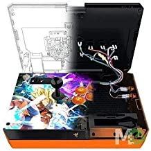 Razer Panthera Dragon Ball Fighter Z: Fully Mod-Capable - Sanwa Joystick and Buttons - Internal Storage Compartment - Tournament Arcade Stick for PS4 and PC