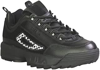 Fila Men's Disruptor 2 Patches Fashion Sneakers Black/Fora/Pdrb 12