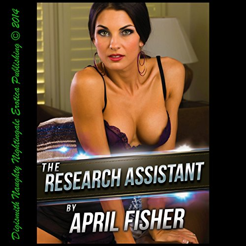 The Research Assistant audiobook cover art