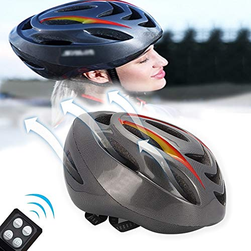 Ultralight Fietshelm, Unisex Adult fietshelm CE-certificering met LED achterlicht Fiets fietshelm fietshelm Geschikt voor Night Driving