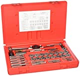 Vermont American 21749 40-Piece Metric Super Mechanics Tap and Die Set with Plastic Case