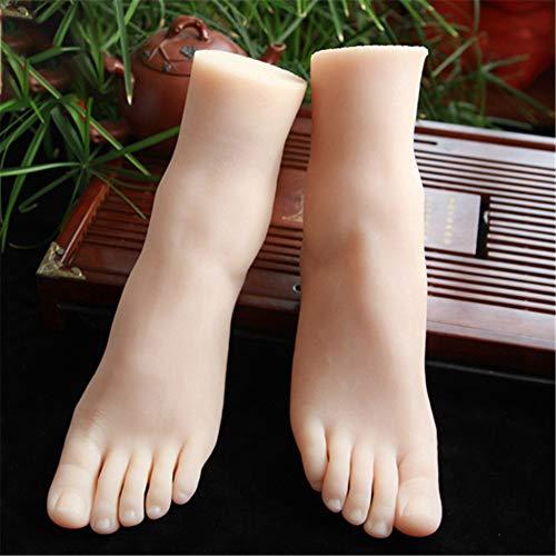 AFYH Silikon Füße Modell, Schöne Füße kopieren 1: 1 Machen Silikonfüße Modell 36A weibliche schöne Füße kopieren, echte Berührung schöne Füße