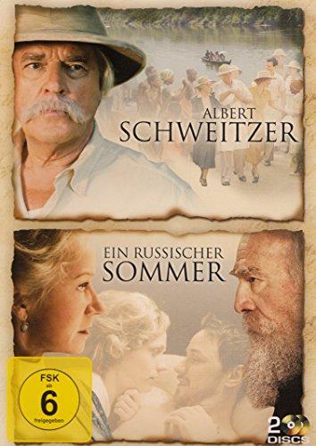Ein russischer Sommer / Alber Schweitzer - 2 DVD Set