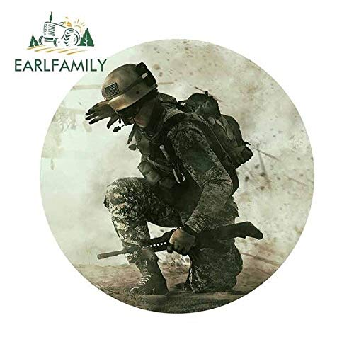 BJDKF 13 cm x 12,9 cm für Battlefield Soldier Hochwertige Autoaufkleber Ganzkörper-Autotürschutz-Aufkleber