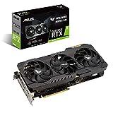 ASUS TUF Gaming NVIDIA GeForce RTX 3090 24GB GDDR6X - Tarjeta gráfica (PCIe 4.0, HDMI 2.1, DisplayPort 1.4a, Doble rodamiento de Bolas, Certificación Militar, GPU Tweak II)