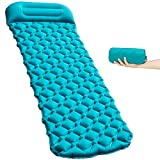 HACHEEY Camping Sleeping Pad, Ultralight & Compact Camping Pad with Pillow, Portable for Camping...