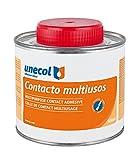 Unecol 3225 Adhesivo de contacto multiusos (bote con pincel), Beige, 500 ml