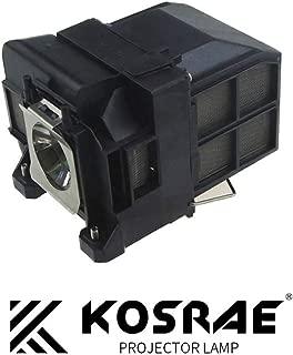 KOSRAE ELPLP77 / V13H010L77 Replacement Lamp for EPSON EB-1970W EB-1985WU / PowerLite HC 1440 / PowerLite 1980WU 1985WU 4650 4750W 4855WU 1975W G5910 Projector
