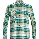 Salewa, Fanes Flannel 3 Pl L/S, Camicia, Uomo, Verde (M Botan), 46/S