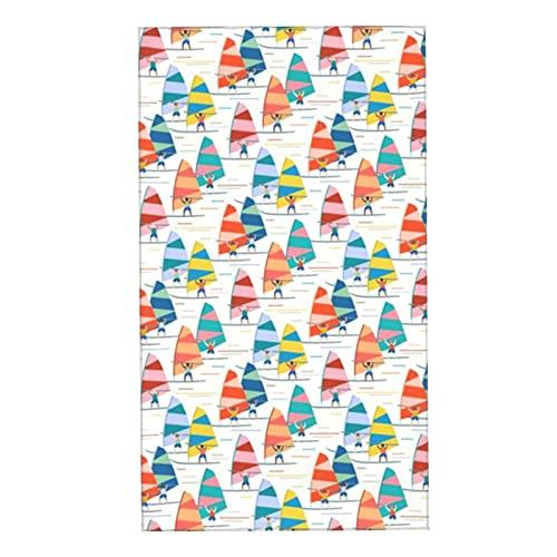 Toallitas de toalla suave absorbente toalla de baño toalla toalla toalla de cara windsurf escala media blanco para mujeres hombres piel delicada