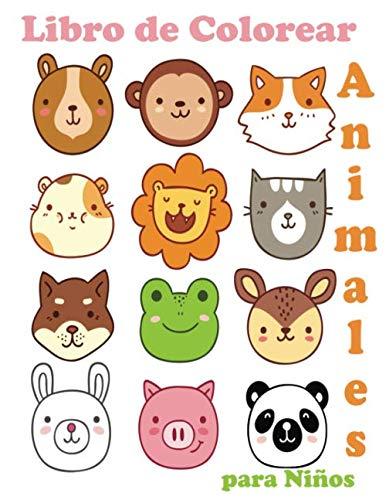 Animales Libro de Colorear para Niños: Libro de colorare...