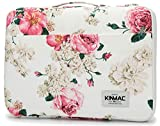 Kinmac Peony 360° Protective Waterproof 12 inch-13 inch Laptop Case Bag Sleeve with Handle for Surface Pro,MacBook Pro 13',MacBook 12',New MacBook Air 13' Retina and iPad pro 12.9