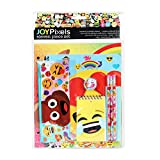 emoji Stationery Set School Supplies for Girls / 11 Pieces
