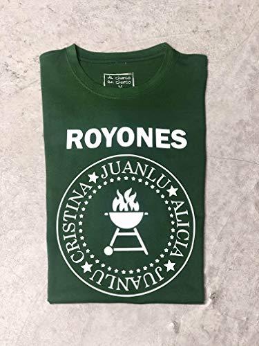 Camiseta Mujer personalizada estilo Ramones