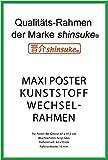 empireposter Wechselrahmen Shinsuke® Maxi-Poster 61,5x91cm