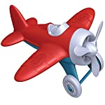 3D Model of Green Toys Airplane - BPA Free, Phthalates Free, Red Aero Plane for Improving Aeronautical Knowledge of Children. Toys and Games