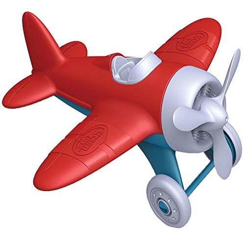 Green Toys Airplane - BPA Free, Phthalates Free, Red Aero Plane for Improving...