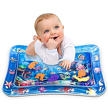 Infinno Inflatable Tummy Time Mat Premium Baby Water Play Mat for Infants and Toddlers Baby Toys for 3 to 24 Months Strengthen Your Baby s Muscles Portable